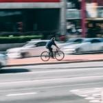 Handyhalterung Fahrrad - Stadtverkehr