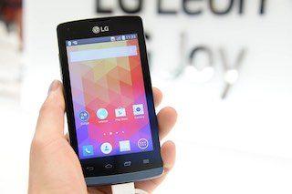 LG-Handy für Handyhalterung am Fahrrad